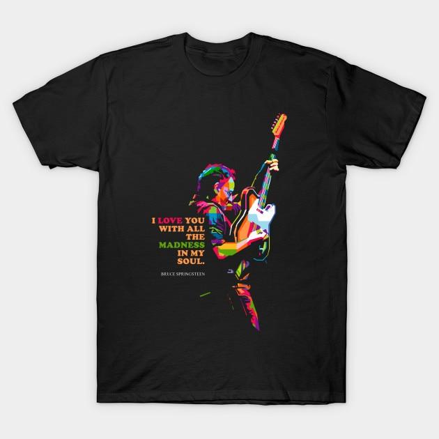 Bruce Springsteen Men's T Shirt