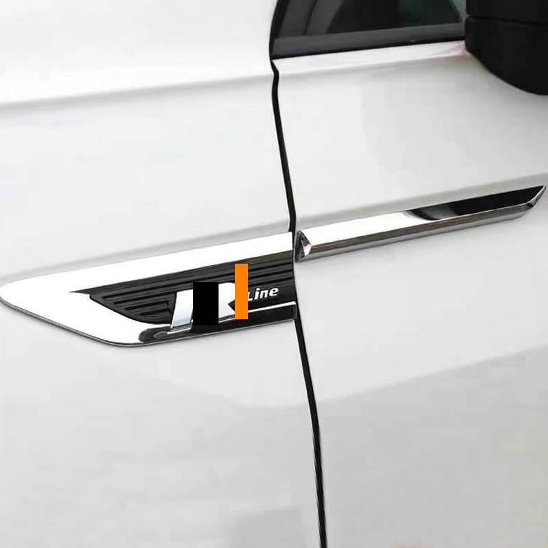 Для Tiguan L дверное полотно панель rline листовая логотип стикеры декоративные для тела