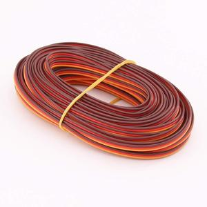 5 Meters 16 feet 26AWG/22AWG JR Futaba Servo Extension Cable Wire 30/60 Cord Lead Extended Wiring for RC DIY accessories(China)