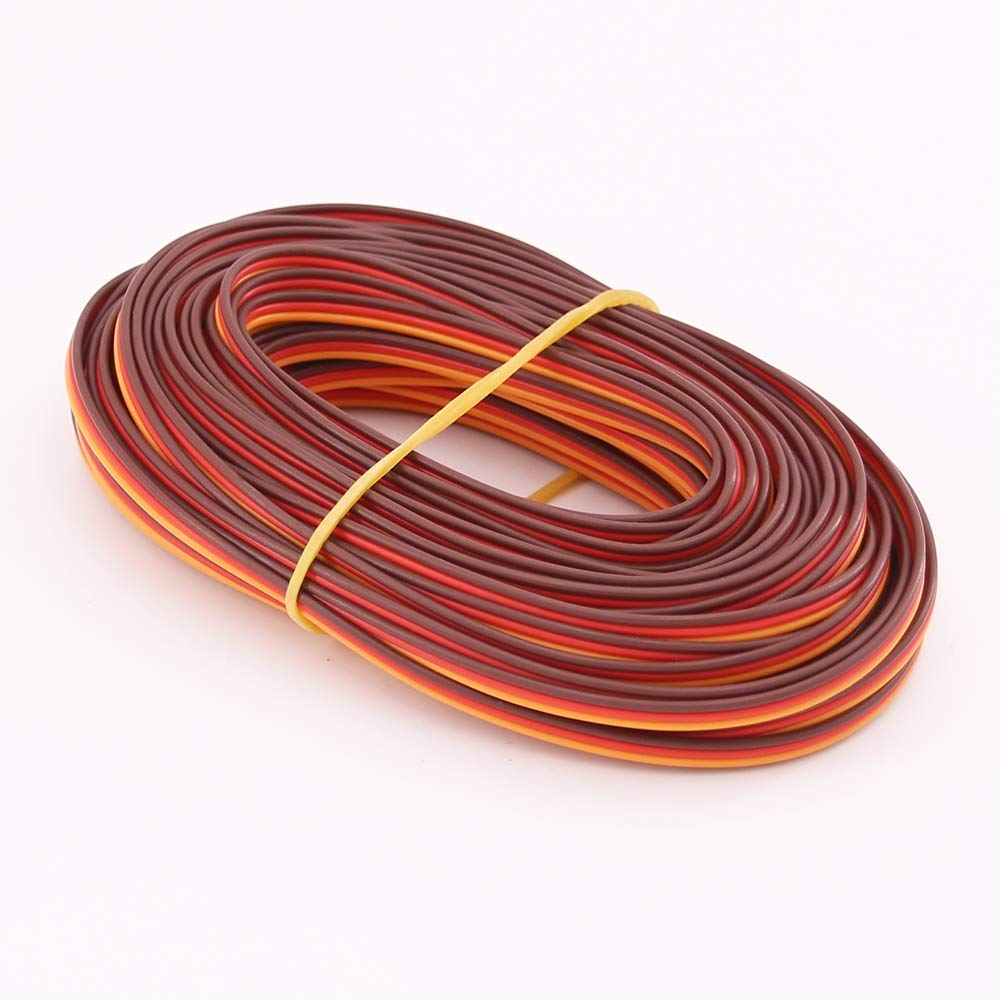 5 Meters 16 feet 26AWG/22AWG JR Futaba Servo Extension Cable Wire 30/60 Cord Lead Extended Wiring for RC DIY accessories