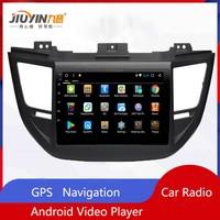 JIUYIN Car Radio Multimedia no 2 Din Android Video Player Navigation GPS For Hyundai Tucson 2015