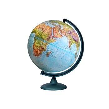 Globe double carte en relief d'un diamètre de 320mm, avec éclairage