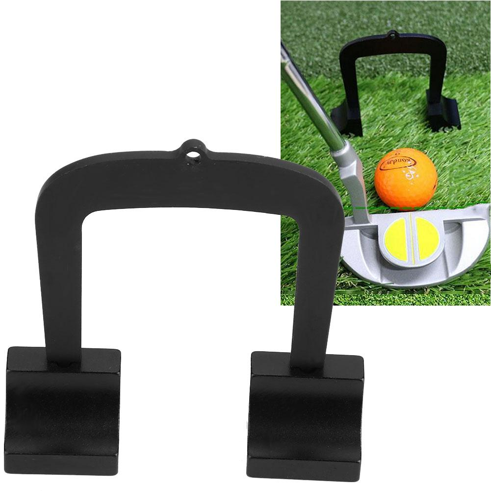Golf Putter Kit Aluminum Alloy Golf Putting Target Alignment Goal Gate Pack Putt Portable And Lightweight Convenient To Use
