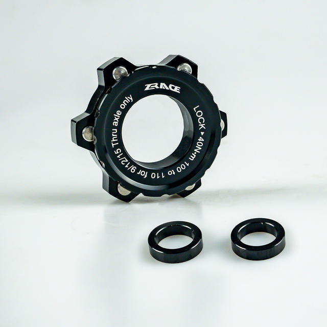 ZRACE Brake Disc Center Lock Hub Boost Adapter,Center-Lock for 6-Hole 15x100 To 15x110, 12x142 To 12x148 Aluminum Alloy