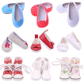 5Cm Doll Shoes Cute For 14.5 Inch Nancy American Doll&BJD EXO Doll&32-34Cm Paola Reina Doll Our Generation Girl`s Toy Russia DIY image
