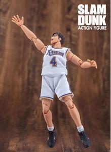 Image 4 - GREAT TOYS Dasin Shinichi Maki  action figure Kainan SLAM DUNK GT model toy NO.4 doll