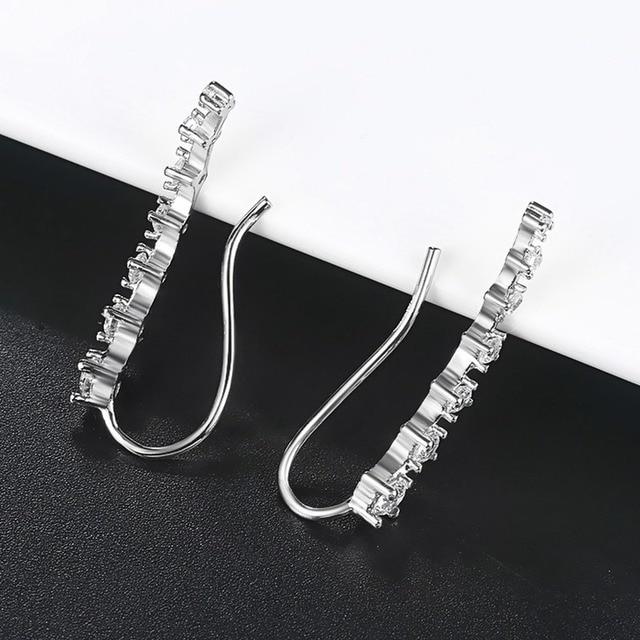 4 Styles Elegant Star Ear Hook Clip Earrings for Women Fashion Jewelry Metal Alloy Cubic Zirconia.jpg 640x640 - 4 Styles Elegant Star Ear Hook Clip Earrings for Women Fashion Jewelry Metal Alloy Cubic Zirconia Pierced Party Anniversary