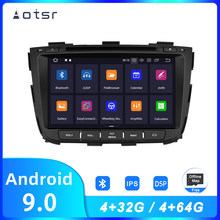 AOTSR Android 9 Car Radio For Kia Sorento 2012 2013 2014 2015 Car GPS Navigation DSP Player IPS Screen Multimedia Autostereo(China)
