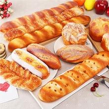 Künstliche Gefälschte Brot Ornamente Kuchen Bäckerei Handwerk Kinder Küche Spielzeug Donuts Donuts Simulation Modell