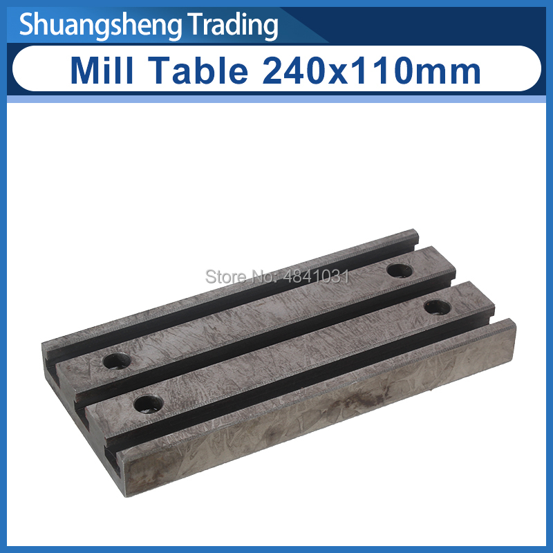 Mill Table 240x110mm SIEG  S/N:10199 C6&SC6/M6&SM6 Machine Tool Spare Parts