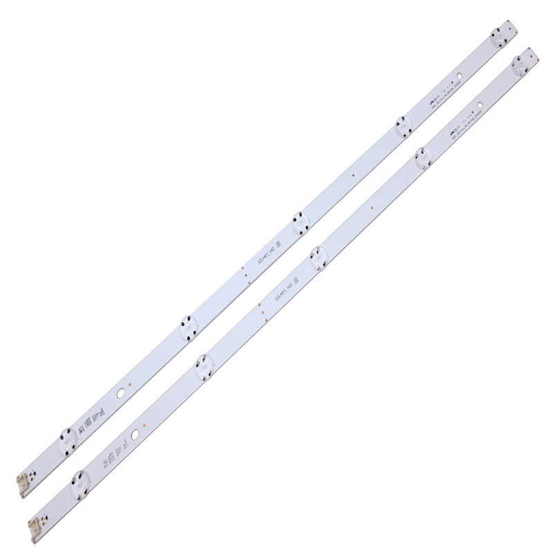 2 PCS 5LEDs 590mm LED Backlight Strip For LG 32LF510B Innotek Direct 32inch CSP 32LH510B 32LH51_HD S SSC_32INCH_HD