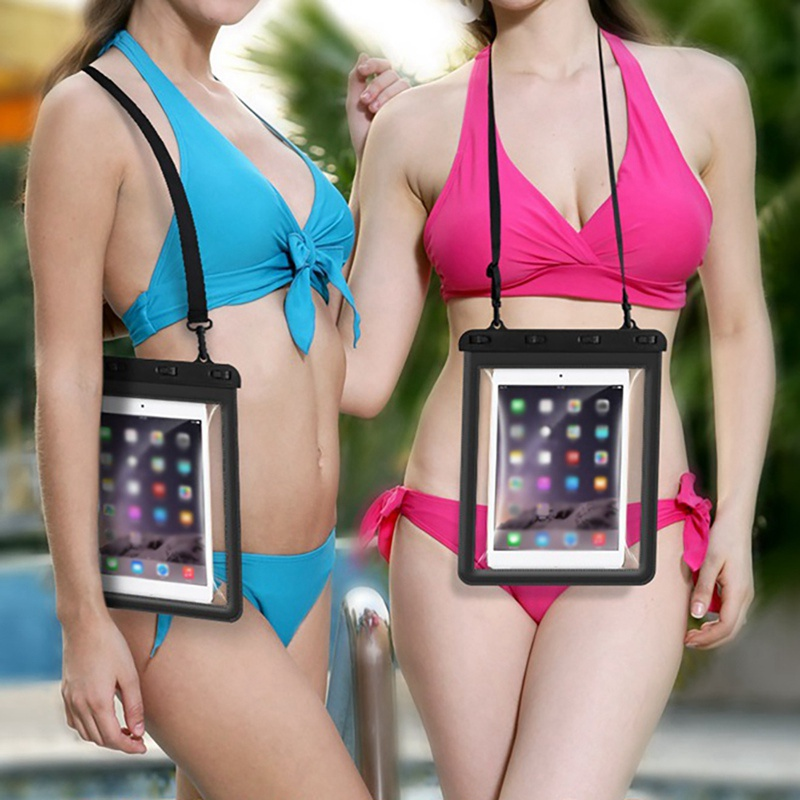 Waterproof Case Phone Dry Bag High Strength Sealed Touch Case Cover For Ipad