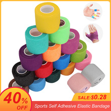 4.5m Colorful Sport Self Adhesive Elastic Bandage Wrap Tape Elastoplast For Knee Support Pads Finger Ankle Palm Shoulder