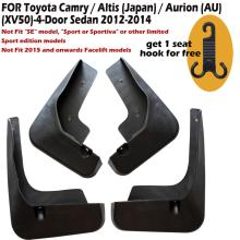 4 Pcs Set Molded Mud Flaps Mudflaps Splash Guards Front Rear Mud Flap Mudguards Fender YC101077 set for chevrolet silverdo 2007 2011 molded mud flaps mudflaps splash guards front rear mud flap mudguards fender yc101072