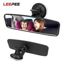 LEEPEE 360 ° поворачивается зеркало заднего вида с широким углом обзора зеркало заднего вида Регулируемая присоска Автомобильное зеркало задне...