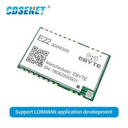 E22-900M30S SX1262 Wireless Transceiver LoRa Modul 30dBm 915MHz SMD Stempel Loch IPEX 850-930MHz TCXO rf Sender empfänger