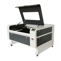 MDF wood acrylic laser cutter 60W 80w 100w CO2 cnc 1080 laser cutting and engraving machine price