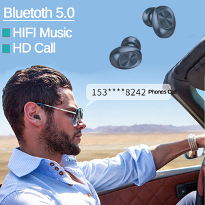 Image 5 - F10 TWS Bluetooth 5.0 kablosuz kulaklık dokunmatik kontrol kulakiçi IPX7 su geçirmez 9D Stereo müzik kulaklık 1200mAh güç bankası