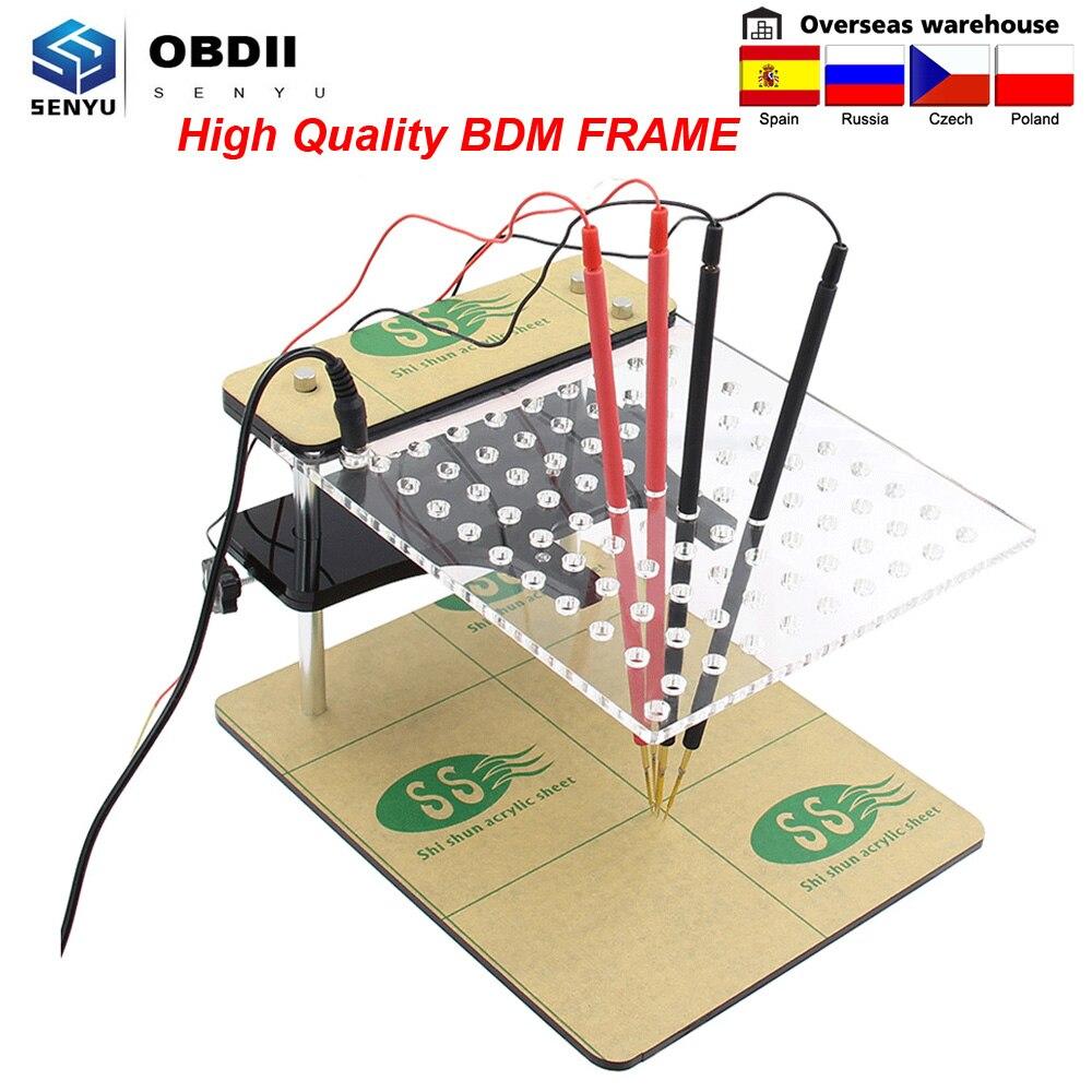 Bdm 22 pçs adaptador bdm quadro ecu programador ferramenta obd2 chip de carro tunning bdm adaptador para bdm 100 ecu chip tuning ferramenta