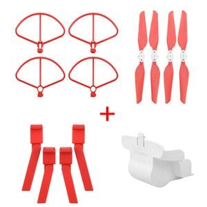 Image 2 - מתקפל מדחף + מורחב להגביר רגל חצובה + עדשת הגנת כיסוי + הגנת טבעות לxiaomi FIMI X8 SE Drone אבזרים