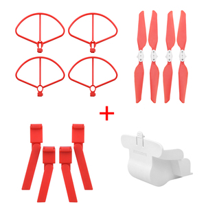 Image 2 - Folding Propeller+ Extended Heighten Leg Tripod+Lens protection cover + protection rings For Xiaomi FIMI X8 SE Drone Accessories