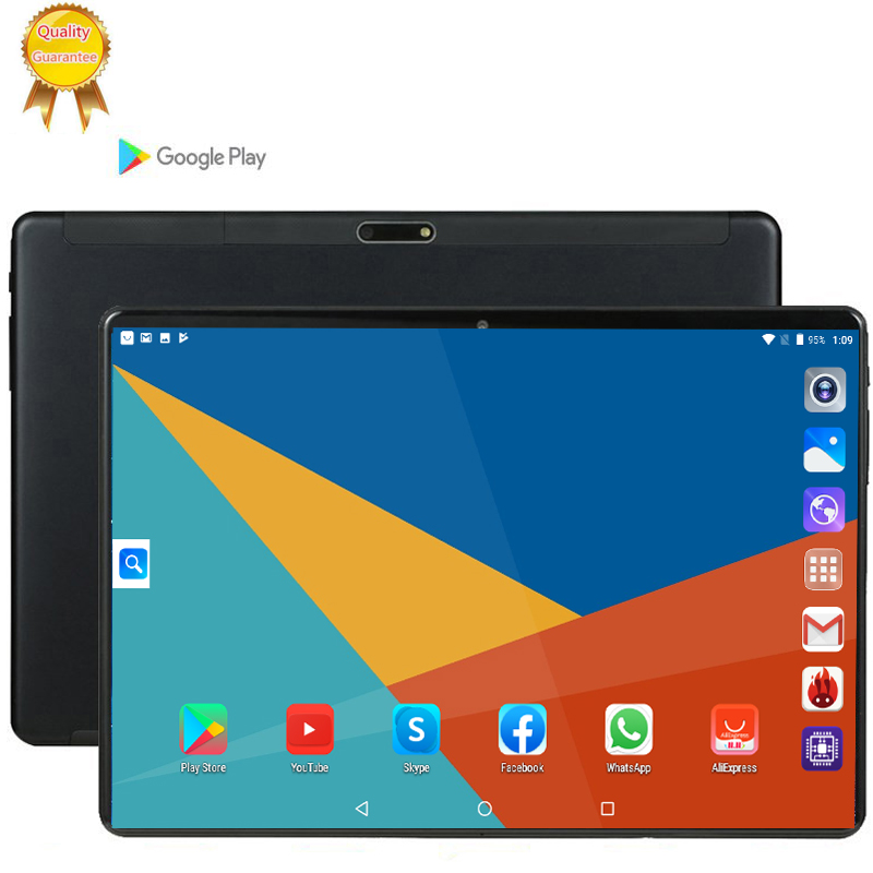 128G MID Global Bluetooth Wifi Phablet Android 9.0 10.1 Inch Tablet Octa Core 6GB RAM 128GB ROM Dual SIM Cards Tablet 10 CP9