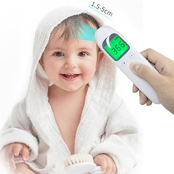 Sistema de mesurament de la temperatura de contacte sense bebè / adult termòmetre digital front infraroig Tèrmic pistola sense contacte Dispositiu de mesurament de la temperatura