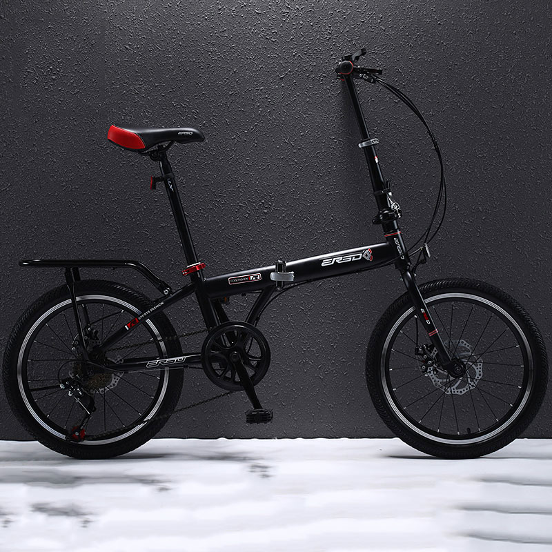 Folding Bike Adult Male And Female Students Variable Speed Ultra Light Portable Compact 16/20 Inch Trunk Bicycle