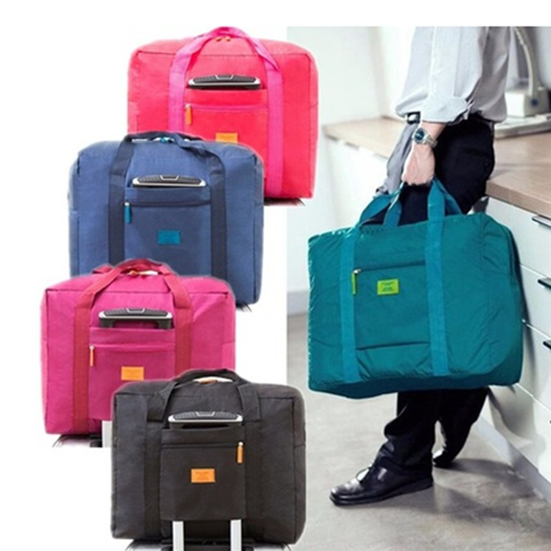 Portable Travel Bags Folding Unisex Large Capacity Bag Women Capacity Hand Luggage Business Trip Traveling Bags WaterProof