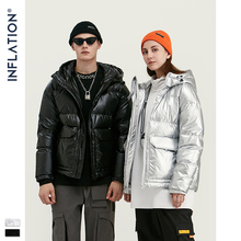 INFLATION 2019 Men Winter Thick Warm Wadded Jacket Men Winter Cotton J