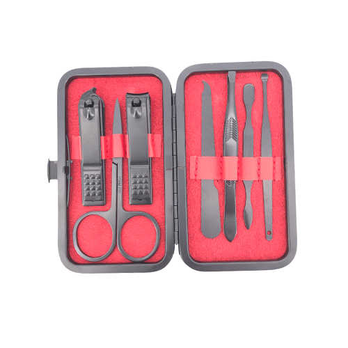 7 stuks/set Nieuwe Manicure Nagelknipper Pedicure Set Draagbare Reizen Hygiëne Kit Rvs Nagelknipper Tool Set