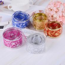 2M DIY Craft Organza Ribbon Christmas Decoration Bows Snowflake Christmas Tree Ribbons Bows Glitter New Year Gifts