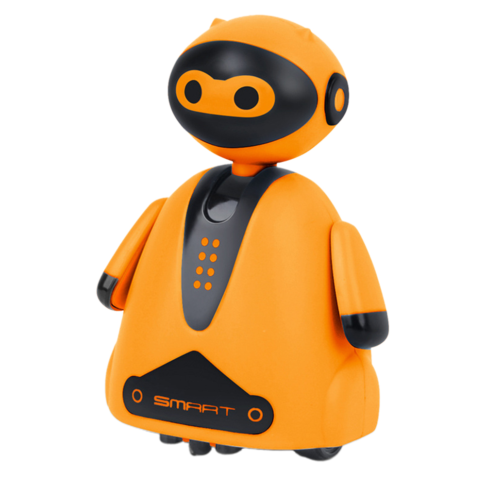 Education With Light Music Inductive Robot Pen Mini Cute Kid Electric Home Smart Xmas Gift Follow Any Drawn Line Children Toy