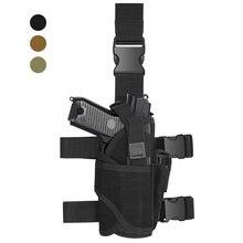Tactical uniwersalny pistolet pistolet kabura udo Tornado pistolet kabura dla Glock 1911 45 92 96 Sig P228 lewa/prawa torba opadająca na nogę