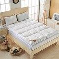 VESCOVO толстый матрас из гусиного пуха, Верхний Матрас для кровати, одиночный двуспальный Размер