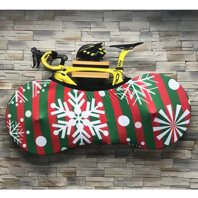 Winter Bike Wheel Cover MTB Bicycle Cover Storage Bag Cycling Bike Wheels Dust-Proof Scratch-proof Cover Indoor Protective Gear