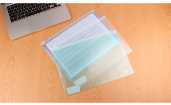 A4 A5 A6  Durable Waterproof Book Paper A4 File Folder New Design Document Rectangle Office Filing Product Customized 2