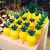 Decoración Tropical de fiesta hawaiana, tazas de piñas de coco, flamenco, Luau Aloha, fiesta, playa, decoración de fiesta de cumpleaños Tropical de verano