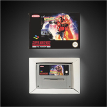 Super Back to the Future Part II 2   EUR Version Action Game Card with Retail Box
