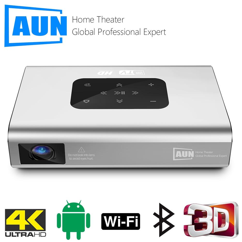 Aun projetor x5 4k android wifi 3d 10500mah bateria 300 polegada 1080p dlp mini portátil vedio projetor smart tv laser beamer hdmi-0