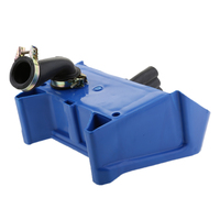Blue Motorcycle Air Filter Box Foam Assembly For Yamaha PW80 PY80 PEEWEE 80