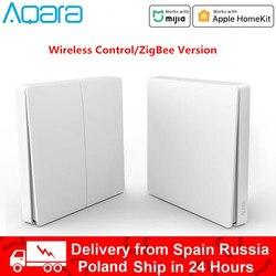 Xiaomi Aqara D1 Wall Switch Smart Zigbee Wireless Key Light Remote Control Zero Line Fire Wire Switch Without Neutral
