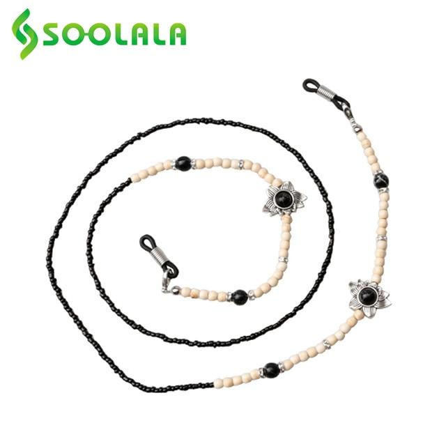 Фото шнурок цепочка для очков soolala аксессуары со шнурком с бусинами
