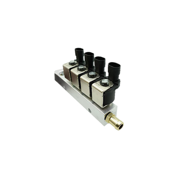 Inyector de carril de gas glp CNG 3/4 OHM carril de inyector común y accesorios para sistema de gas BRC