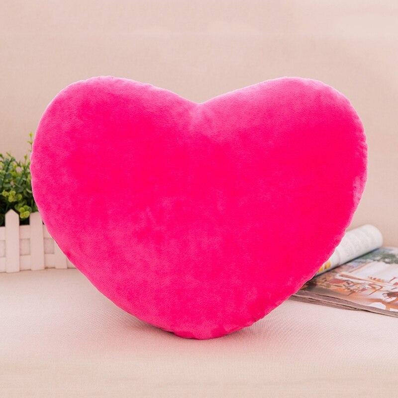 Декоративная подушка в форме сердца, 30 см, полипропиленовая хлопковая мягкая креативная кукла, подарок для любимого J2HD