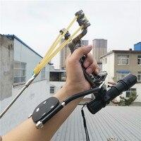 Powerful Multi function Archery Bow fishing Shooting fish Slingshot Catapult Hunting bow Fishing Sling Shot arrow kit