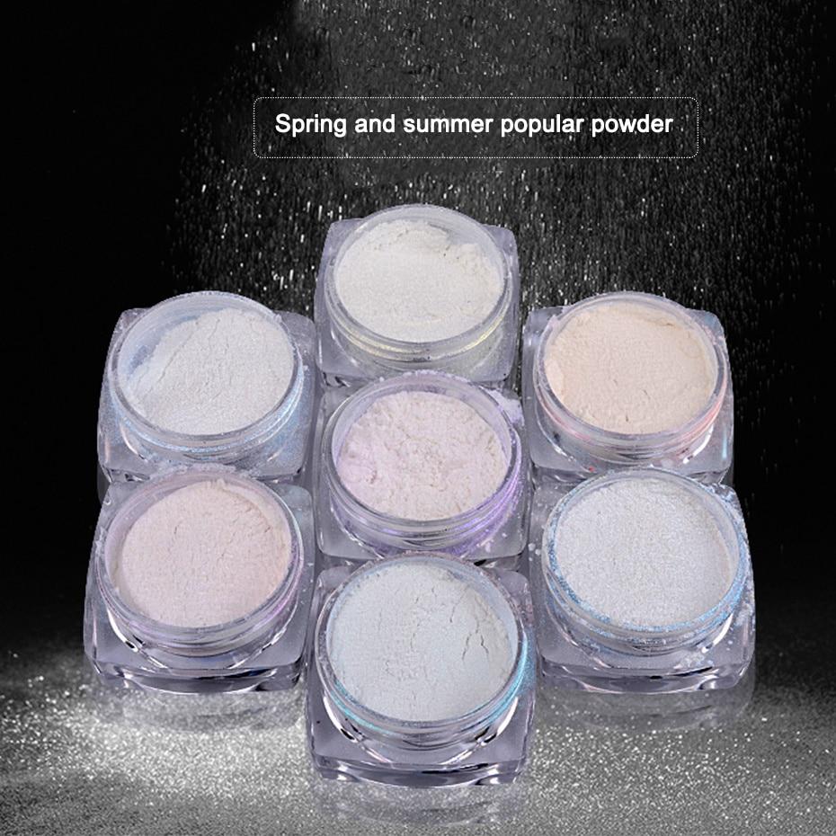 Pearl Nail Powder Pigment dust 7-1