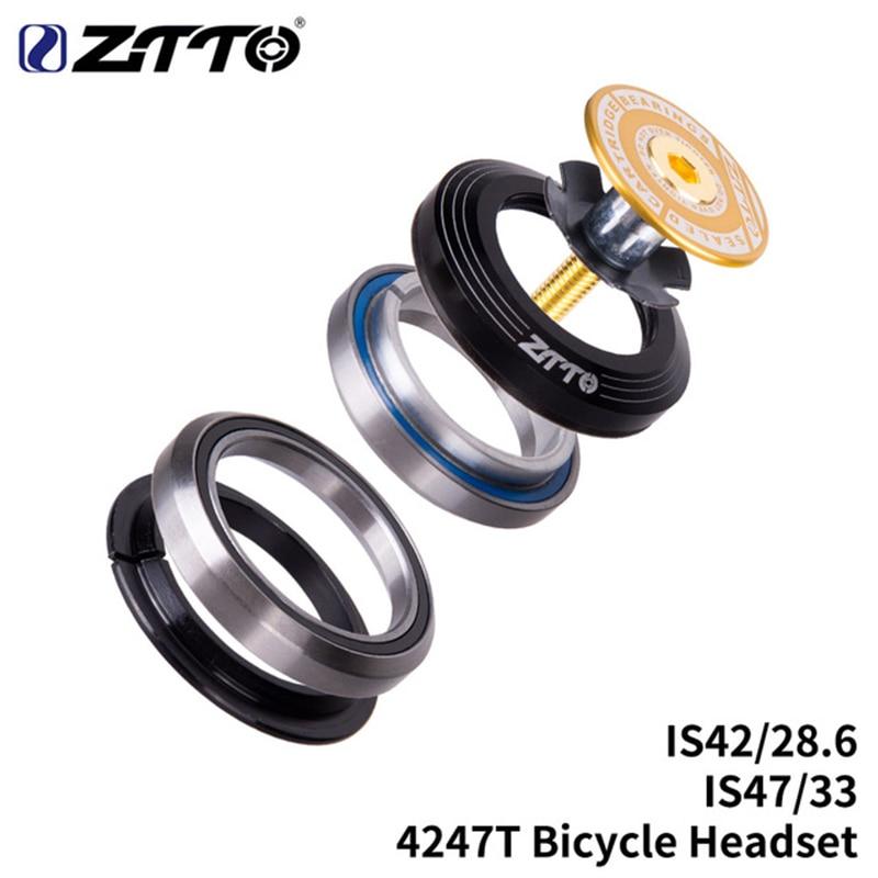 ZTTO велосипедный подшипник гарнитура 42 мм 47 мм 1 1/8