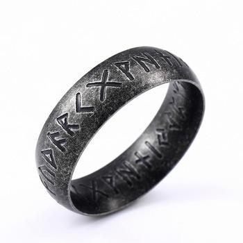 Bague acier inoxydable Odin  1