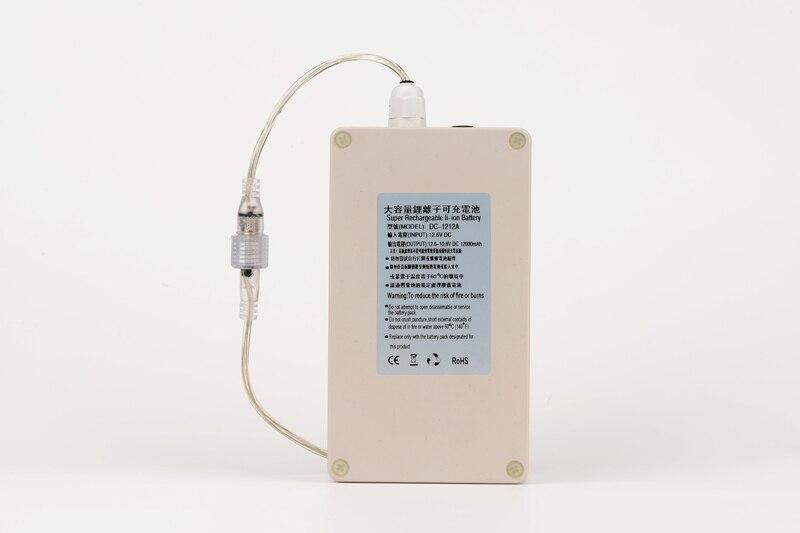 Купить водонепроницаемый dc 12v 12000mah емкость литий ионная аккумуляторная